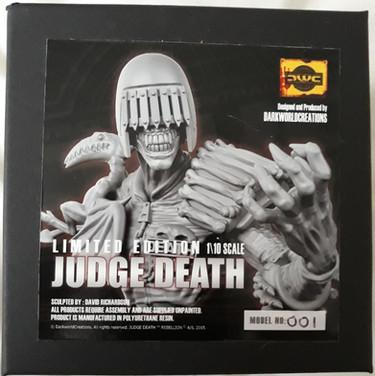 Dark World Creations: Judge Death Bust 1/10th