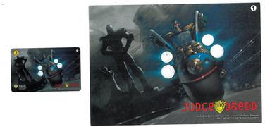 P&J Promotions Judge Dredd Series 2 Number 1