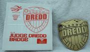 Planet Replicas: Judge Dredd Badge 3