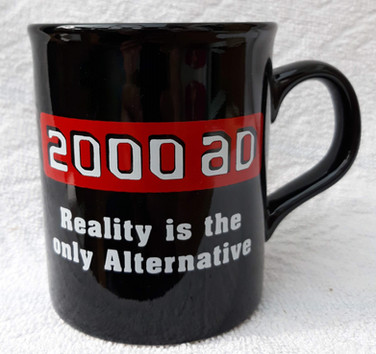 """2000ad """"Reality is the only Alternative"""" Mug"""