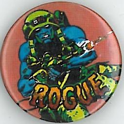 Rogue Trooper Red Badge Eighties