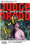 Judge Dredd Megazine Vol 1 Number 4