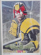 Tom Frame: Brian Bolland Judge Dredd Print