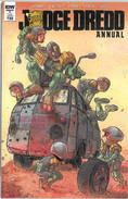 Judge Dredd Annual 1 Cover B