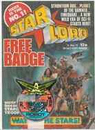 Starlord 1 Robot Regiment Badge
