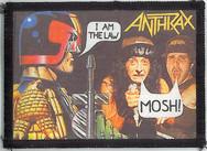 Anthrax Judge Dredd Mosh Patch