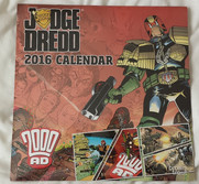 Judge Dredd Calendar 2000 Limited Edition