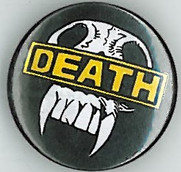 Judge Death Shield Badge Eighties