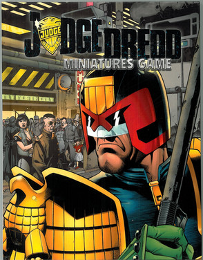 Mongoose: Judge Dredd MIniatures Game Rule Book Variant Cover