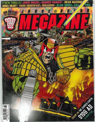 Judge Dredd Megazine 218 cover 2