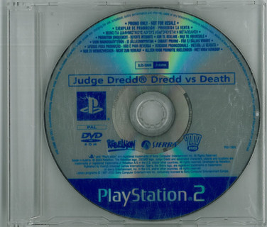 Playstaion 2: Judge Dredd vs Judge Death Promo