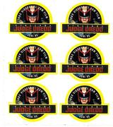 Judge Dredd Movie Promo Sticker (German)