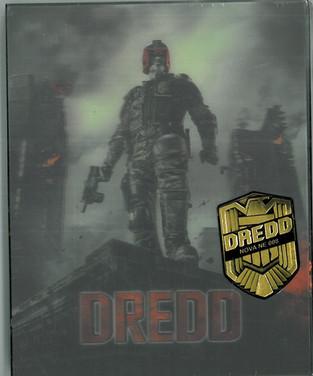 Dredd 2012 Blu-Ray Nova Media Lenicular Case