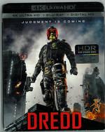 Dredd 2012 Blu-Ray Ultra HD Steelbook