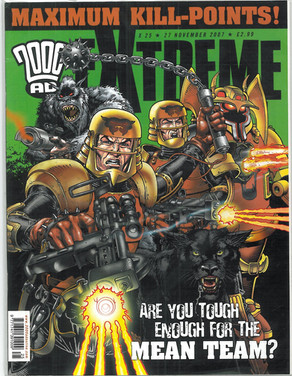 2000ad Extreme Edition 25