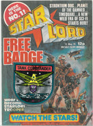 Starlord 1 Tank Commander Badge