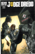 Judge Dredd 1 Cover RE Forbidden Planet