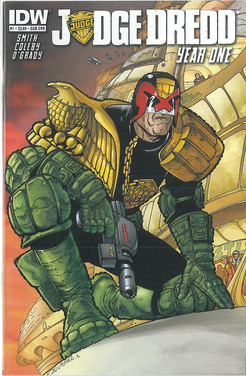 Judge Dredd: Year One 1 Subscription Cover
