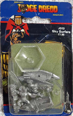 Citadel Blister Judge Dredd: JD13 SkySurfers
