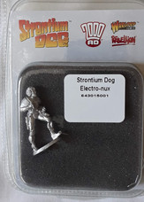 Warlord Bister: Strontium Dog Johnny Alpha Electro-nux