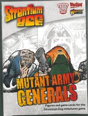 Warlord: Strontium Dog Mutant Army Generals