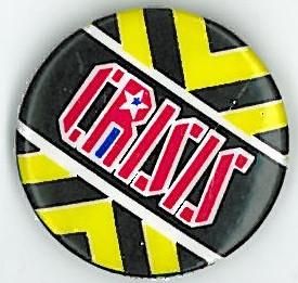 Crisis Badge Eighties