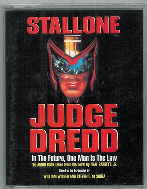 Stallone Judge Dredd Audio Book
