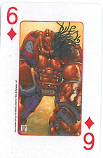 Playing Cards SFX: Six of Diamonds