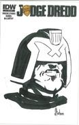 Judge Dredd 2 RIB Sketch Cover