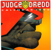 Judge Dredd Calendar 1996