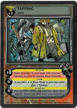 Dredd CCG: Crimes - Tapping