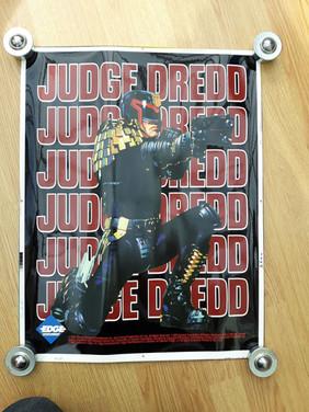 Judge Dredd 1995 Movie Promo Poster