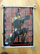 Judge Dredd 1995 Movie Promo Poster