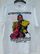 Judge Dredd SDCC 1989 T-Shirt