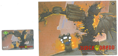P&J Promotions Judge Dredd Series 1 number 6