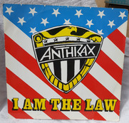 Anthrax: I am the Law 12 Inch