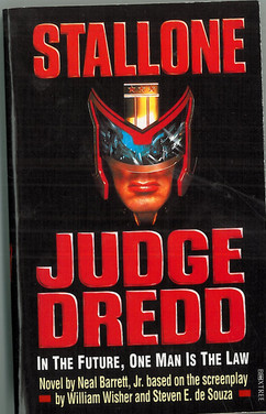 Judge Dredd 1995 Novel