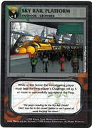 Dredd CCG: Scenes - Sky Rail Platform