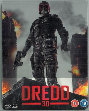 Dredd 2012 Blu-Ray Steelbook Zavvi