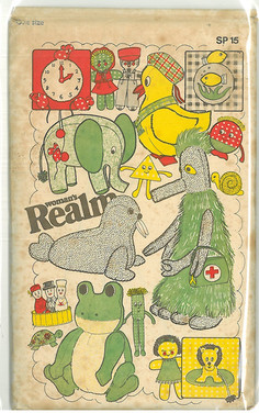 Womans Realm Gronk Sewing Pattern 1979