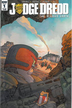 Judge Dredd Blessed Earth 1 Cover A