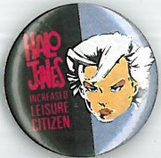 Halo Jones Increased Leisure Badge Eighties