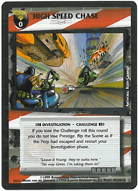 Dredd CCG: Incidents - High Speed Chase
