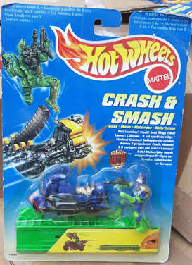 Hot Wheels Dredd on Lawmaster