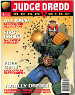 Judge Dredd Megazine Vol 3 Number 1