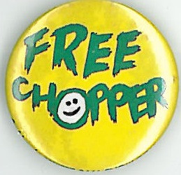 Chopper Badge Eighties