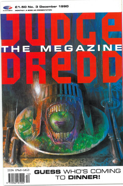 Judge Dredd Megazine Vol 1 Number 3