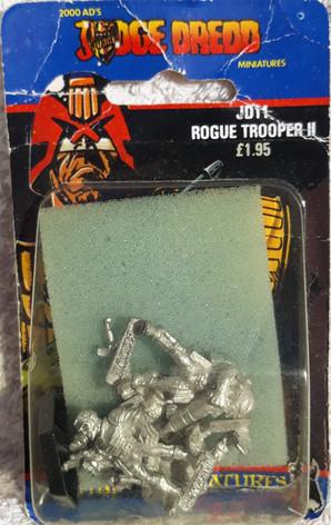 Citadel Blister Judge Dredd: JD11 Rogue Trooper 2