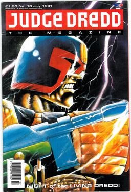 Judge Dredd Megazine Vol 1 Number 10
