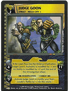 Dredd CCG: Judges - Judge Goon